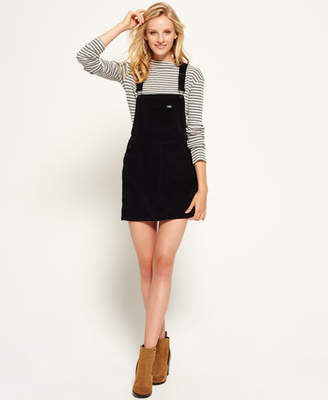 Superdry Cord Dungaree Dress