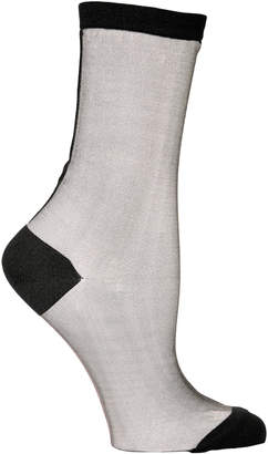Hansel from Basel Back Seam Tulle Sheer Socks