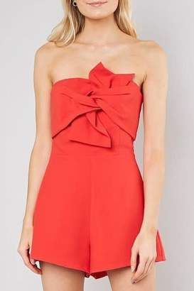 Do & Be Knot Front Romper