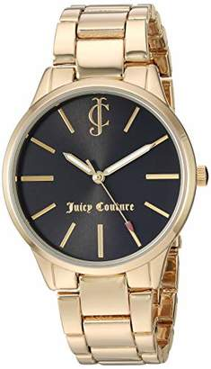 Juicy Couture Black Label Women's -Tone Bracelet Watch