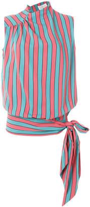 Maison Margiela sleeveless striped top