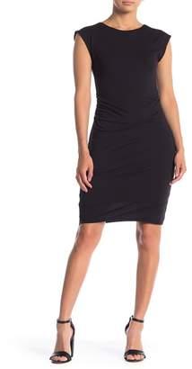 Velvet Gauzy Whisper Bodycon Dress