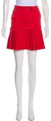 Preen Line Pleated Mini Skirt