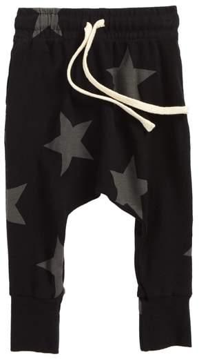 Star Print Baggy Pants