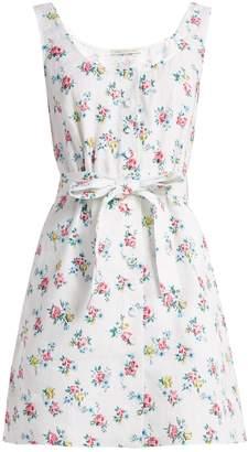 Emilia Wickstead Kirk floral-print linen dress