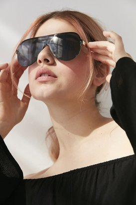 Urban Outfitters Daytona Shield Sunglasses $18 thestylecure.com
