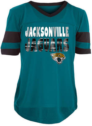 5th & Ocean Jacksonville Jaguars Foil Football Jersey, Girls (4-16)