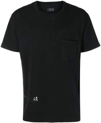 RtA tone-on-tone logo pocket tee