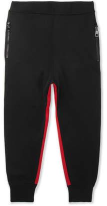 Neil Barrett Slim-Fit Tapered Striped Tech-Jersey Sweatpants