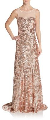 Sequined Mermaid Gown $209 thestylecure.com