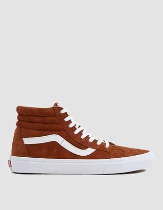 Vans Suede Sk8-Hi Reissue Sneaker in Brown