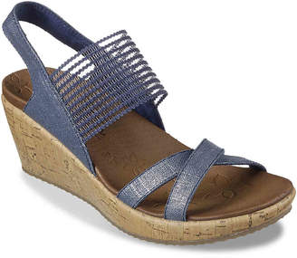 d6c149ce9379 Skechers Cali Beverlee High Tea Wedge Sandal - Women s