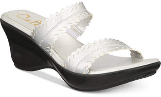 Callisto Prospect Slide Platform Wedge Sandals, Created for Macy's Women's Shoes