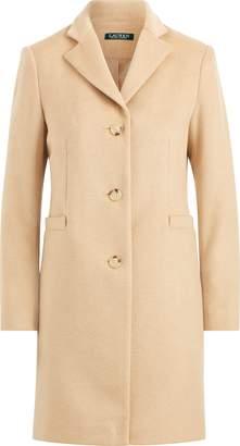 Ralph Lauren Wool-Blend Mockneck Coat