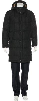 Dolce & Gabbana Wool-Blend Down Coat
