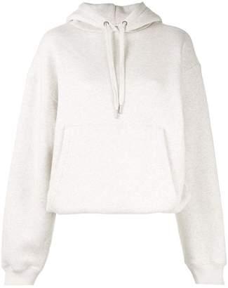 Alexander Wang dense fleece hoodie