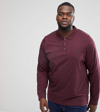 French Connection PLUS Long Sleeve Polo Shirt