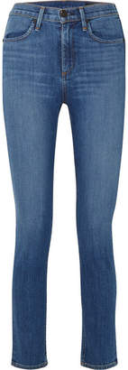 Rag & Bone + Lily Aldridge Cigarette High-rise Straight-leg Jeans