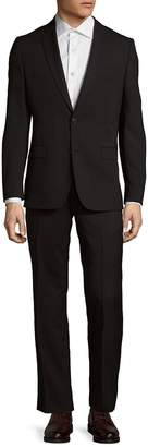 Versace Men's Pinstripe Wool Jacket