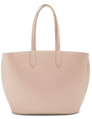 Alexander McQueen East West Leather Tote - Womens - Nude