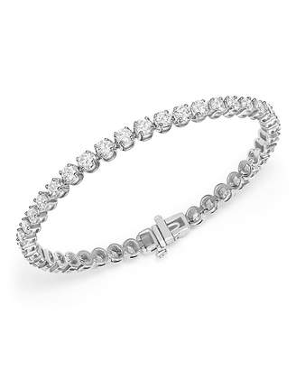 Bloomingdale's Diamond Tennis Bracelet in 14K White Gold, 7.0 ct. t.w. - 100% Exclusive