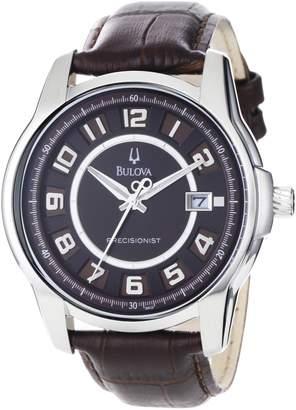 Bulova Men's 96B128 Precisionist Claremont Leather Watch
