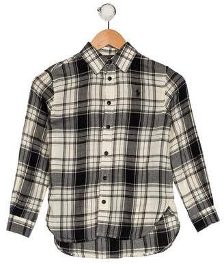 Polo Ralph Lauren Boys' Plaid Shirt