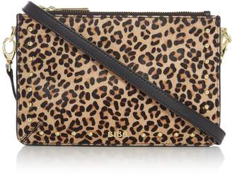 Biba Polly Triple Leather Pouch Crossbody