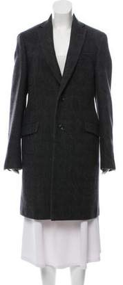Etro Wool Single-Breasted Coat