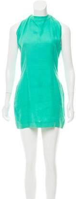 Versus Linen Mini Dress