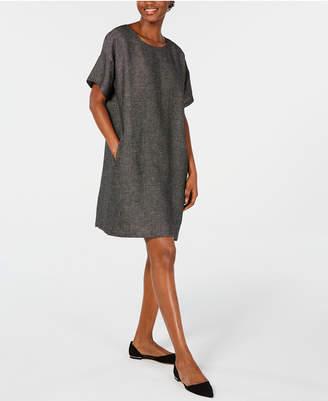 Eileen Fisher Organic Linen Relaxed Dress, Regular & Petite
