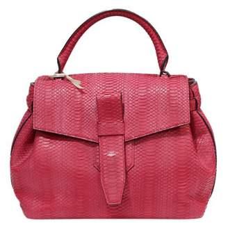 Lancel Charlie Python Handbag