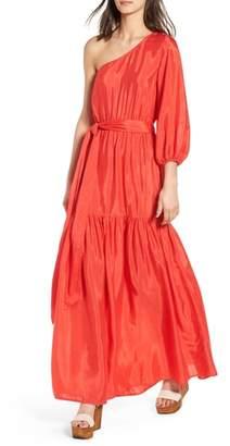 Billabong LOVE LIKE SUMMER X One-Shoulder Maxi Dress