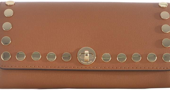 Michael Kors Stud Embellished Clutch - CAMMELLO - STYLE