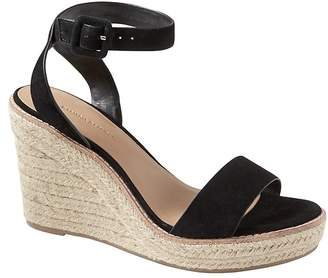 Banana Republic Espadrille Wedge Sandal