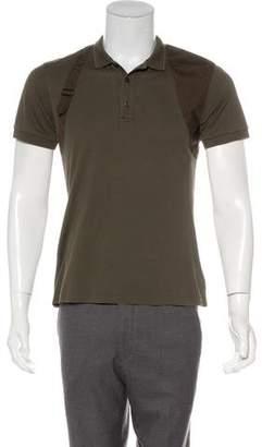 Alexander McQueen Harness-Accented Polo Shirt