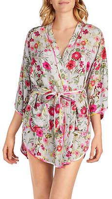 Kensie Floral Kimono Robe