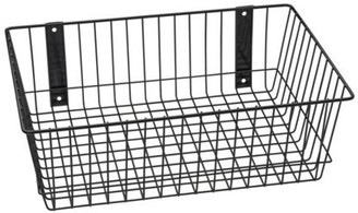 "Rack'Em Racks Rack'Em 9085-B Mount Anywhere Black Wire Basket 18""x12""x6"" provides versatile storage all of your outdoor gear, supplies and organizational needs."
