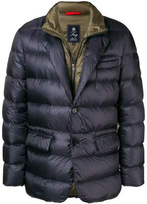 Fay layered down jacket