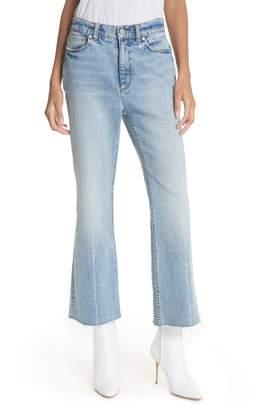 Rebecca Taylor Ines Kick Bootcut Jeans