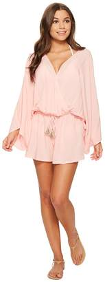 Vince Camuto Riviera Solids Cover-Up Romper Women's Jumpsuit & Rompers One Piece