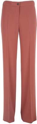 Alberto Biani Wide-leg Crepe Trousers