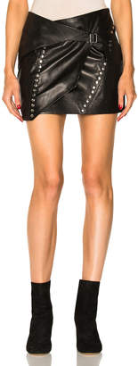 IRO Mupper Leather Skirt
