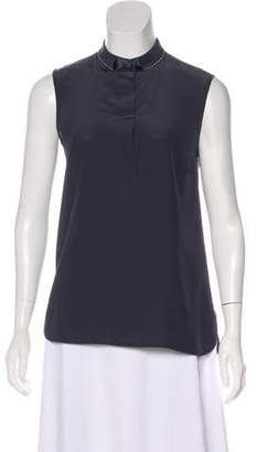 Peserico Sleeveless Embellished Top w/ Tags
