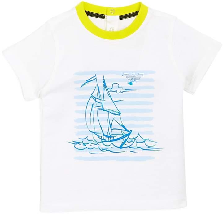 Boy's Sailboat Graphic Tee - Baby