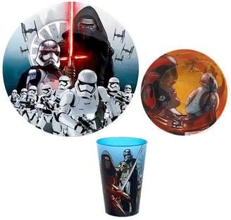Star Wars Home Episode VII The Force Awakens 3-pc. Melamine Dinnerware Set
