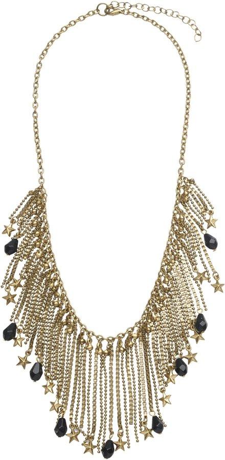 Superstar Fringe Necklace