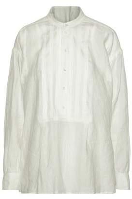 Joseph Pintucked Linen Tunic