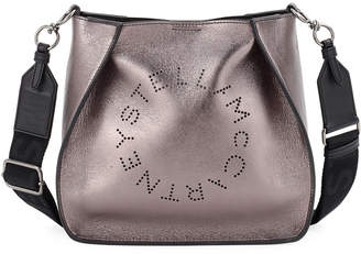 Stella McCartney Perforated Logo Alter Napa Crossbody Bag