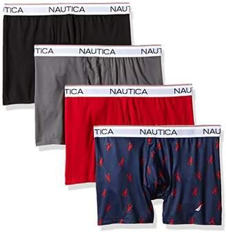 Nautica Men's Comfort Cotton Underwear Boxer Brief Multi Pack